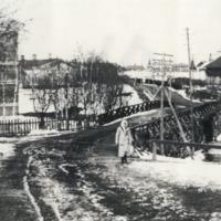 Orimattilan keskustaa 1800- ja 1900-lukujen vaihteessa