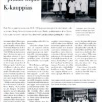 Risto Roine - pitkän linjan K-kauppias