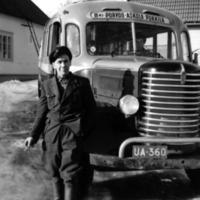 Kuljettaja Allan Aaltonen