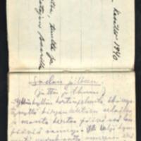 Novelleja. Käsikirjoituksia vuosilta 1940-1941