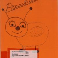 Pörriäinen 1987 : Kirkonkylän koulun 4 B -luokan oma lehti