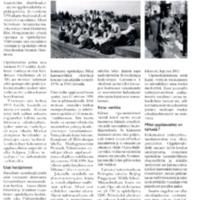 Oppilasvaihtoa Huittisissa - Vanhat perinteet Saksaan