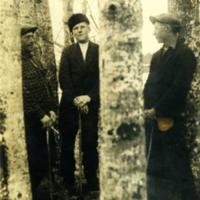 Oskari Haanpää, Aimo Tuukkanen ja Antti Heiskari