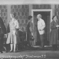 Iisalmen työväenteatterin Naantali-Uusikaupunki -näytelmä