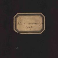 Turun  kansankirjaston lainaajaluettelo: Finska afdelningen 1907<br /> <br />