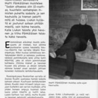 Sota-ajan muistoja Liukonkylältä