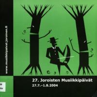 Joroisten musiikkipäivien käsiohjelma 2004