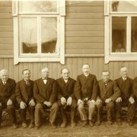 Pukkilan kirkkoneuvosto 1900-luvun alussa