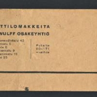 Novelleja. Käsikirjoituksia vuosilta 1946-1947