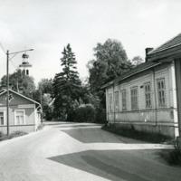 Orimattilan kirkonkylän raittia