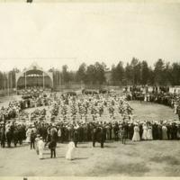 Jymylinnan mäellä pidetyt laulu- ja soittojuhlat vuonna 1909