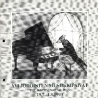 Joroisten musiikkipäivien käsiohjelma 1993