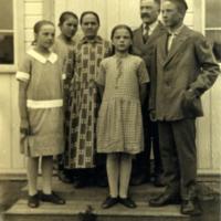 Mikko Haanpään perhettä