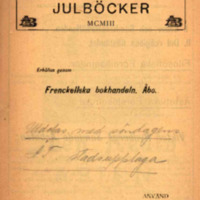 Albert Bonniers Julböcker MCMIII