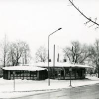 Orimattilan keskustaa 1970-luvulla