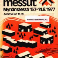 Asuntomessut Mynämäessä 15.7.-14.8.1977