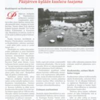 Kouheroinen : Pääjärven kylään kuuluva taajama