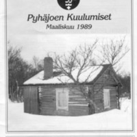 Pyhäjoen Kuulumiset : Maaliskuu 1989