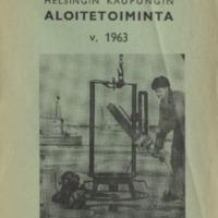 Helsingin kaupungin aloitetoiminta v. 1963