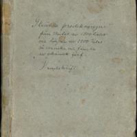Strädda predningar från slutet av 1700-talet och början av 1800-talet på svenska och finska av okända förf. Handskrift.