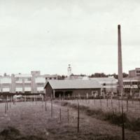 Orimattilan Villatehtaan aluetta