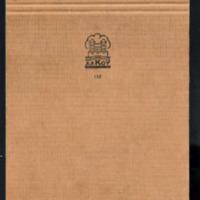 Päiväkirjaa heinäkuu 1955<br /> Puut. Osa käsikirjoituksesta heinä-syyskuu 1955<br />