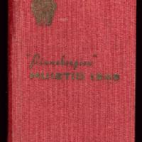"""""""Pinnebergien"""" muistio vuodelta 1948"""
