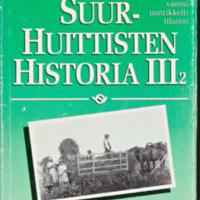 Suur-Huittisten historia III,2 : Väestö, matrikkelit ja tilastot