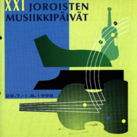 Joroisten musiikkipäivien käsiohjelma 1998