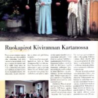 Ruokapirot Kivirannan Kartanossa