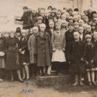 Rippikoululaisia vuonna 1931