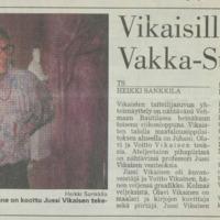 Vikaisilla yhteisnäyttely Vakka-Suomen päivillä