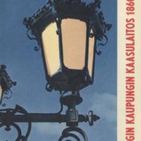 Helsingin kaupungin kaasulaitos : 1860-1960