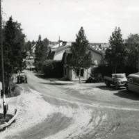 Käkelänkujan alkupää 1950-luvulla
