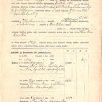 Arwauskirja, lainapaperit ja rasitustodistus v. 1910-1911