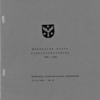 Kuntasuunnitelma 1986-1990 : Osa 1/2