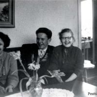 Elsa Haanpää, Kalle Haanpää ja Terttu Marttinen