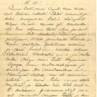 Eino Leinon sekä Elin ja Hilda Lönnbohmin kirje Artturi Lönnbohmille
