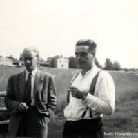 Sigurd Klockare ja Pentti Haanpää
