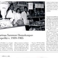 Tarinaa Sammun Osuuskaupan liepeiltä v. 1939-1985