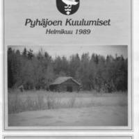 Pyhäjoen Kuulumiset : Helmikuu 1989