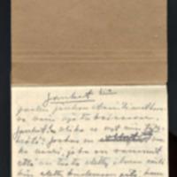 Jauhot. Osa käsikirjoituksesta heinä-elokuu 1948<br /> Novelleja. Käsikirjoituksia syys-lokakuu 1948<br /> Apuraha-anomus syyskuu 1948