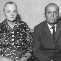 Lassi ja Olga Tossavainen 1966