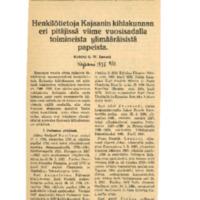 Henkilötietoja Kajaanin kihlakunnan eri pitäjissä viime vuosisadalla toimineista ylimääräisistä papeista.pdf