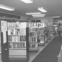 Kirkonsalmi 1987. Näkymä kirjastosta