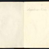 Korpelaisen mökkipäiväkirja vuosilta 1951-1955
