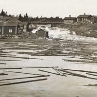 Naarkoski 1900-luvun ensimmäisellä vuosikymmenellä