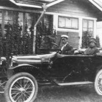 Eläinlääkäri Agnes Sjöberg Somerolla 1916