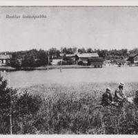 Rautilan lastauspaikka Vehmaalla