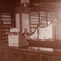 Orimattilan apteekki 1920-luvun alussa